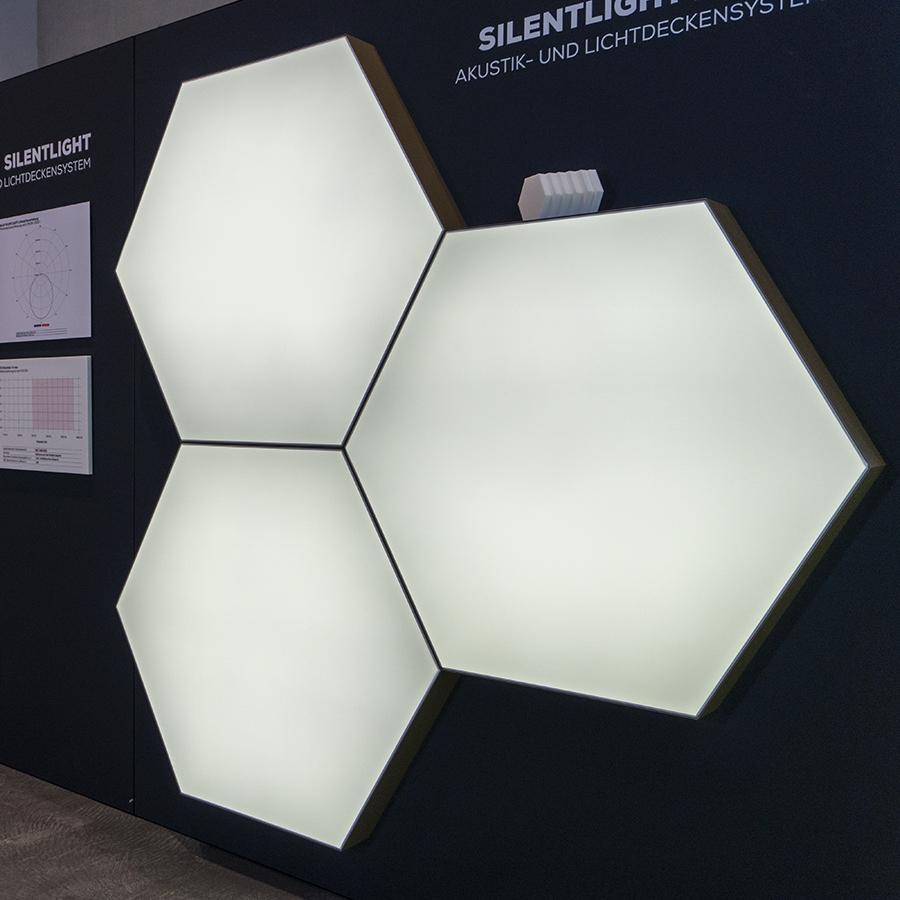 LED Lichtfläche HEXA