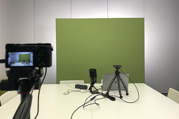 Greenscreen Stellwand 200 x 200 cm