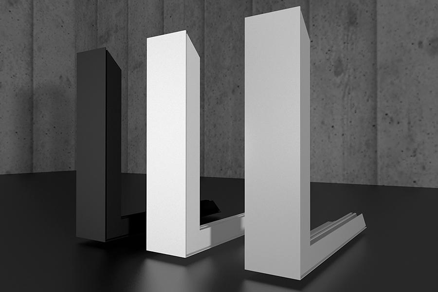 Aluminiumrahmen für Akustikdecken