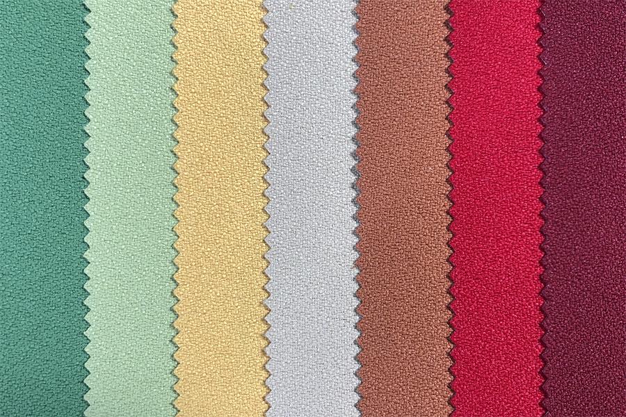 Akustikstoffe in verschiedenen Farben