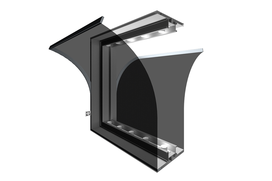 LED Lightbox 120 mm doppelseitig