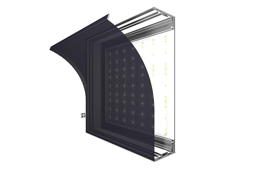 LED Lichtwand in Privatklinik