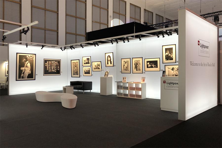 LED Leuchtkasten als Ausstellungssystem