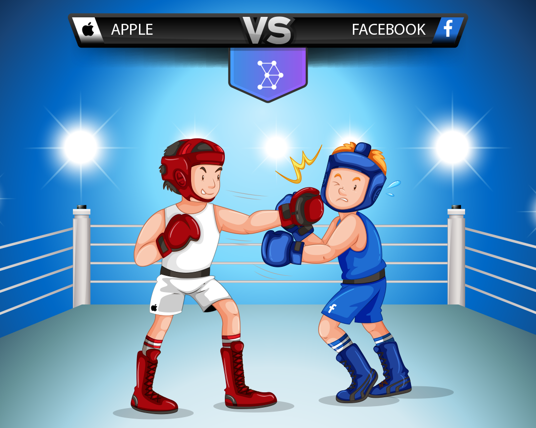 Facebook and Apple war
