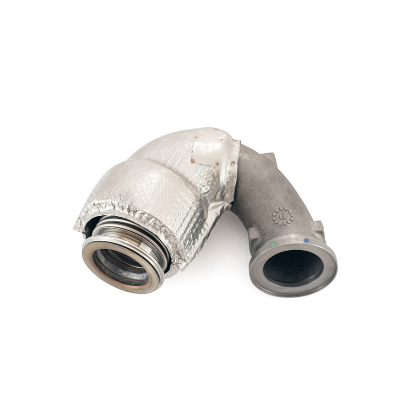EGR Tube from Volvo. On-highway industry.
