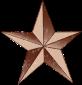textured star