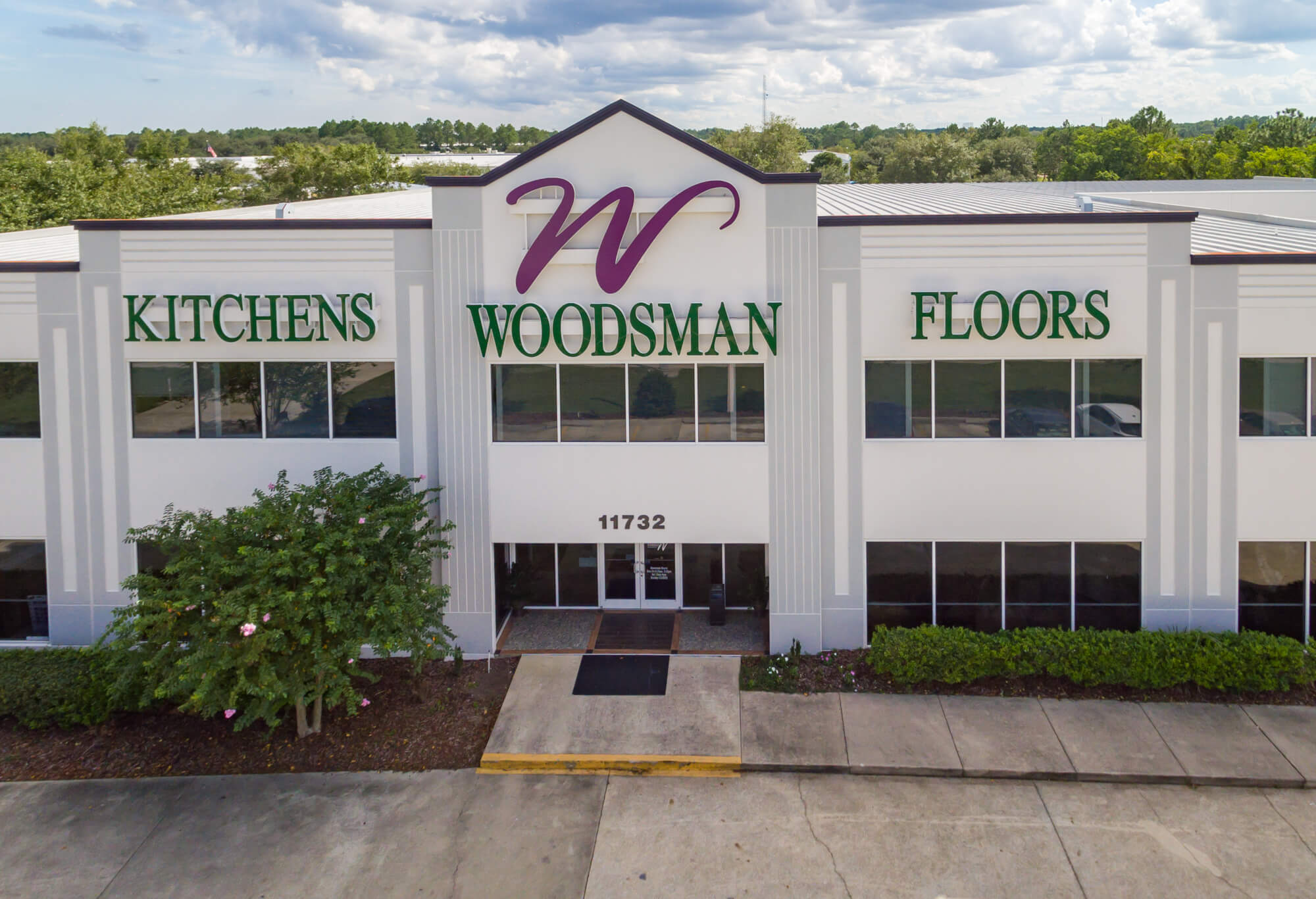 Woodsman Cabinetry Showroom