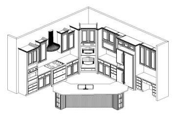 kitchen redesign woodsman
