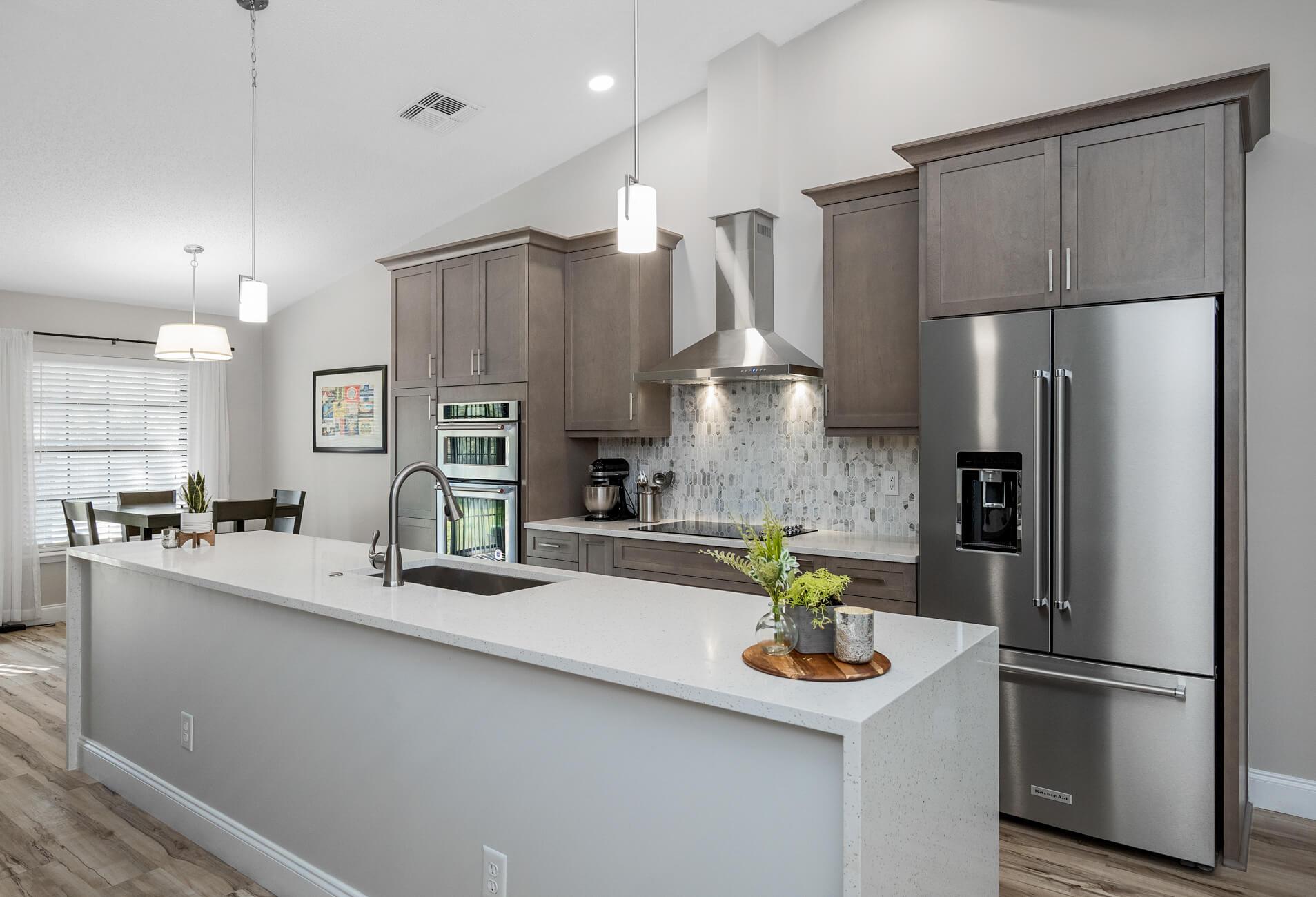 Modern Kitchen and Flooring Update