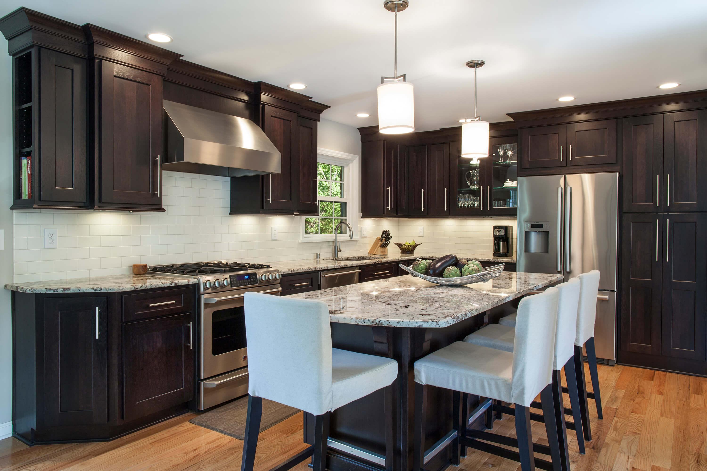 cabinetry, modern kitchen, dark cabinets, kitchens jacksonville, custom homes jacksonville, Shiloh Cabinetry