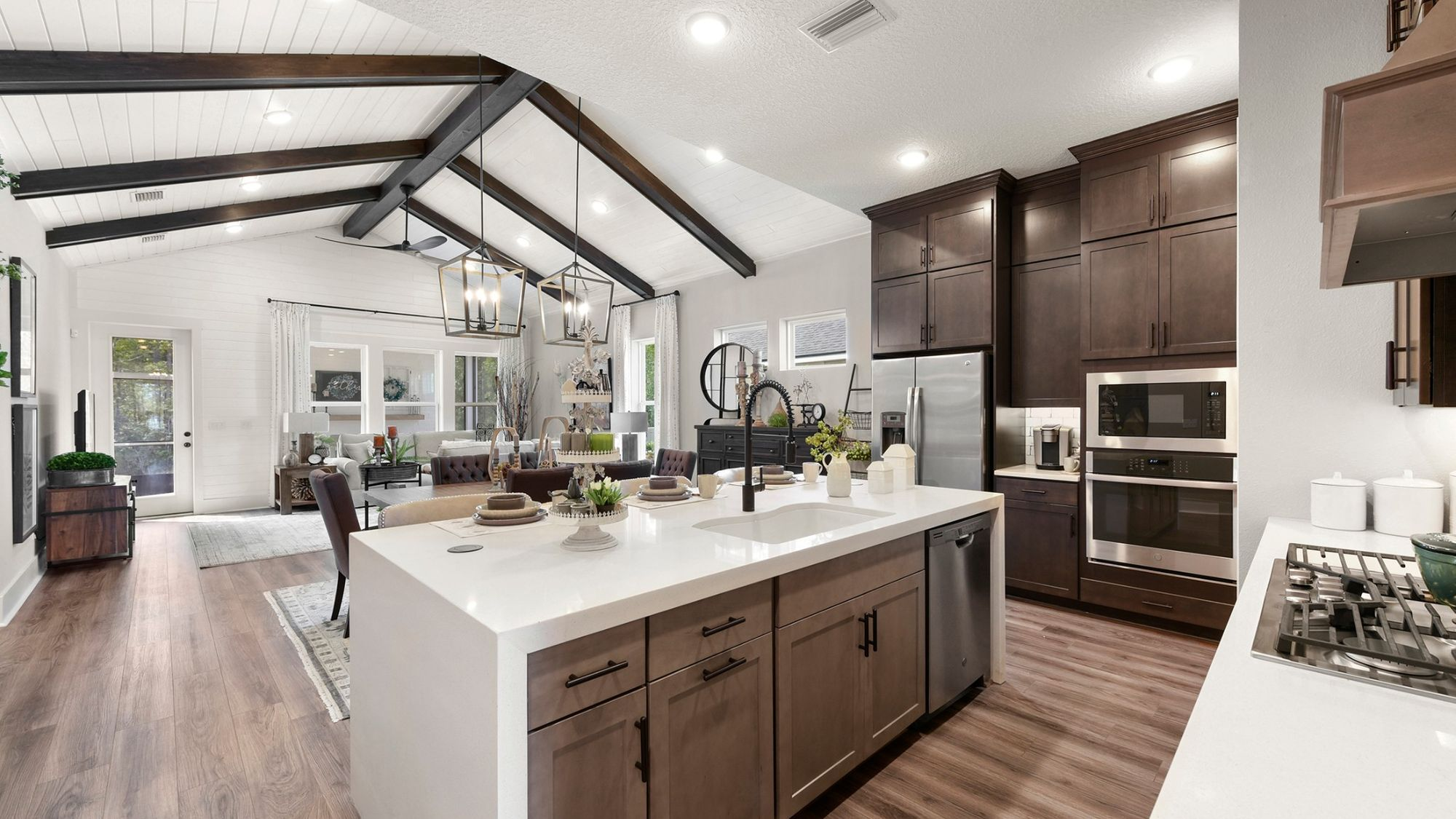 model homes, builder packages, new homes, cabinets, counters