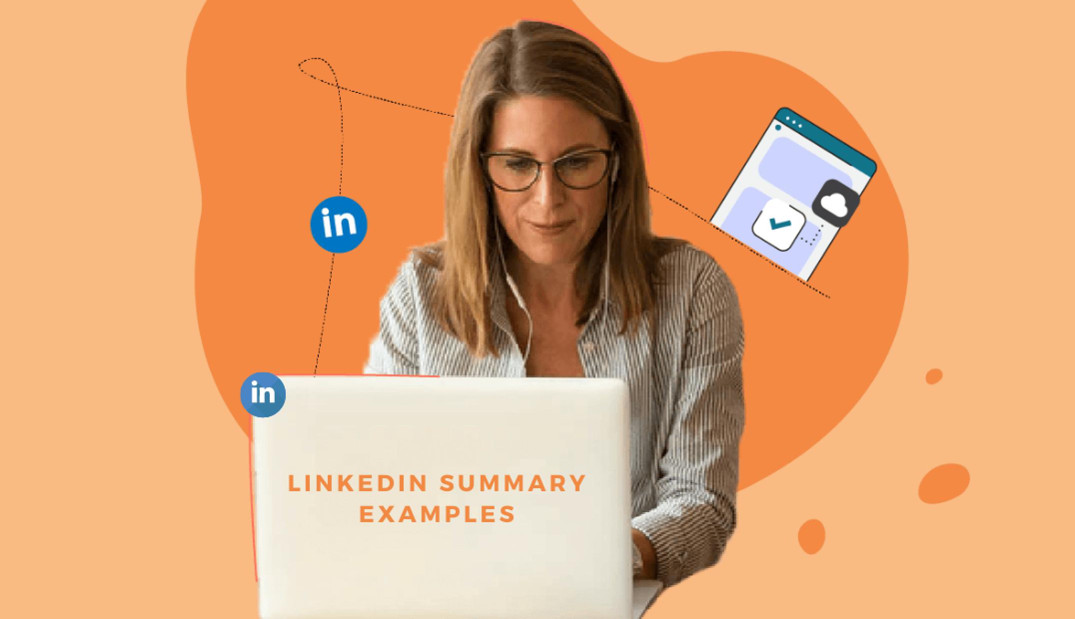 linkedin summary, linkedin summary examples, linkedin summary examples on Skillhub