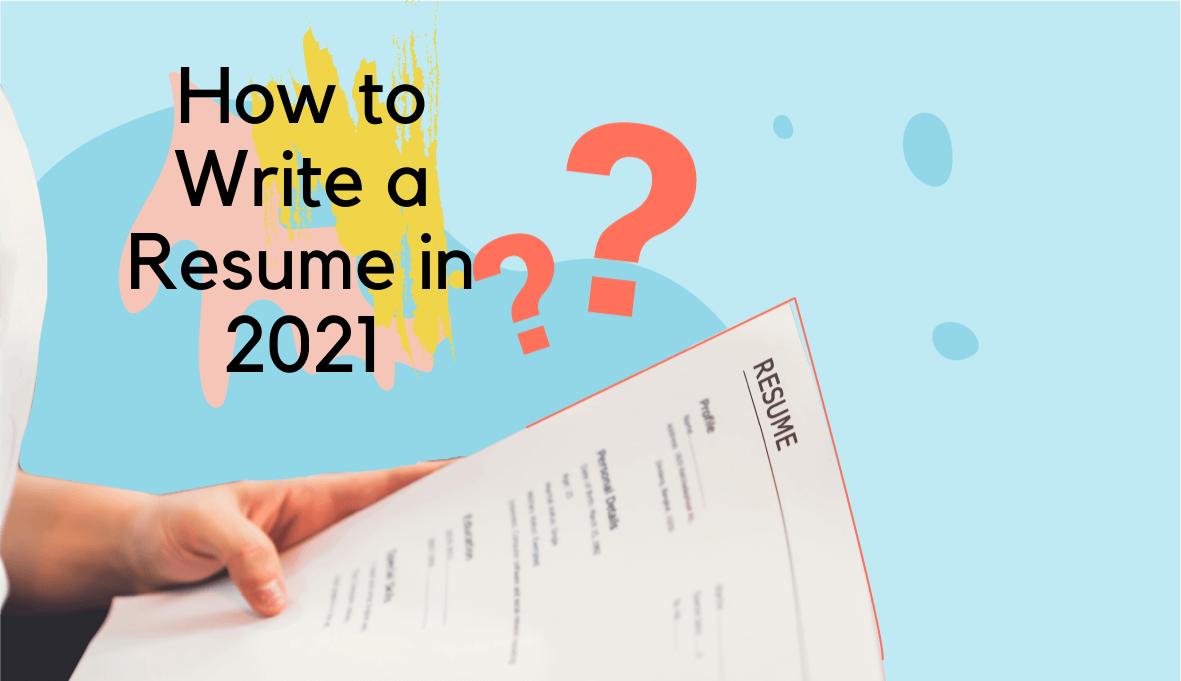 how to write a resume, how to write a good resume, how to write a resume for a job on Skillhub