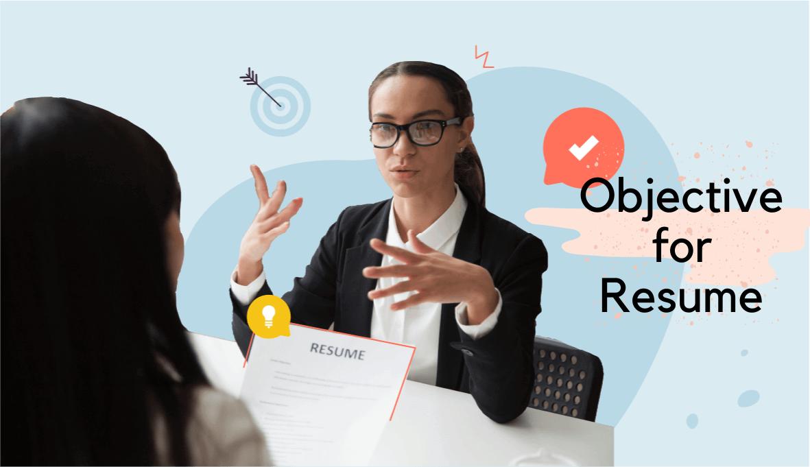 objective for resume, good objective for resume , objective for resume examples on Skillhub