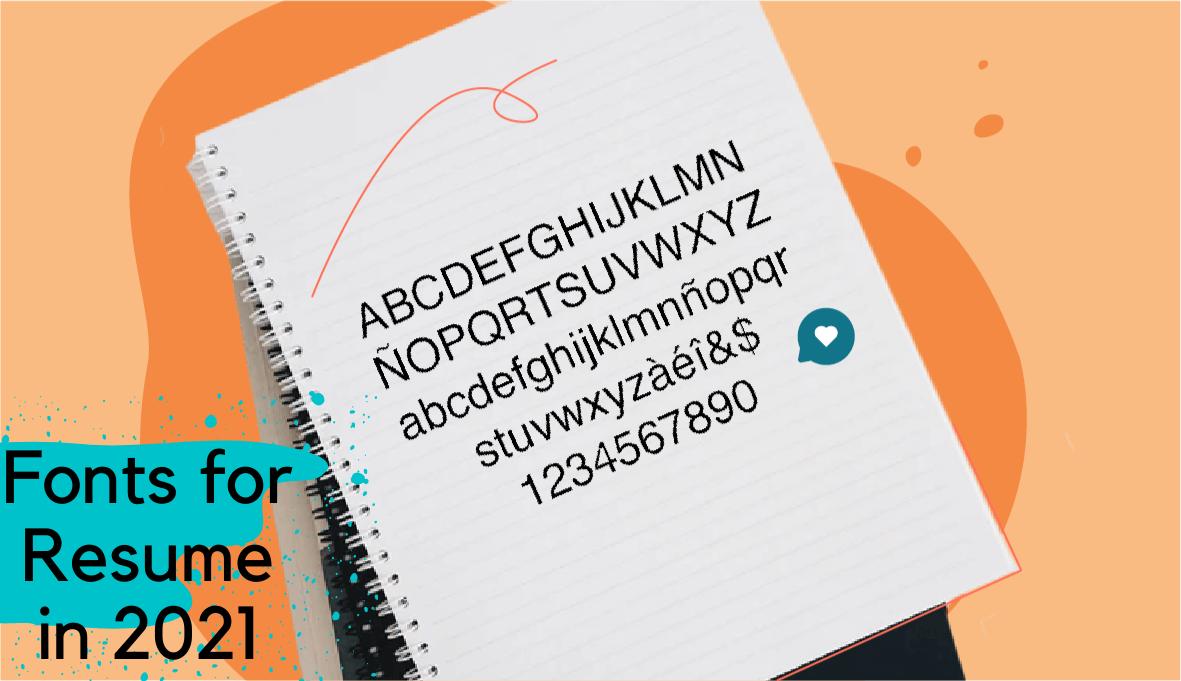 best font for resume, fonts for resume, good fonts for resume on Skillhub