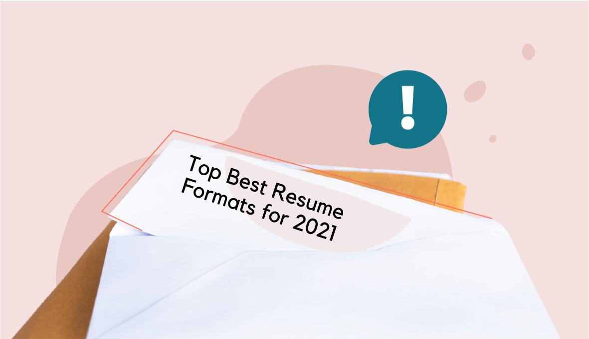 top resume formats, resume formats, resume formats on Skillhub