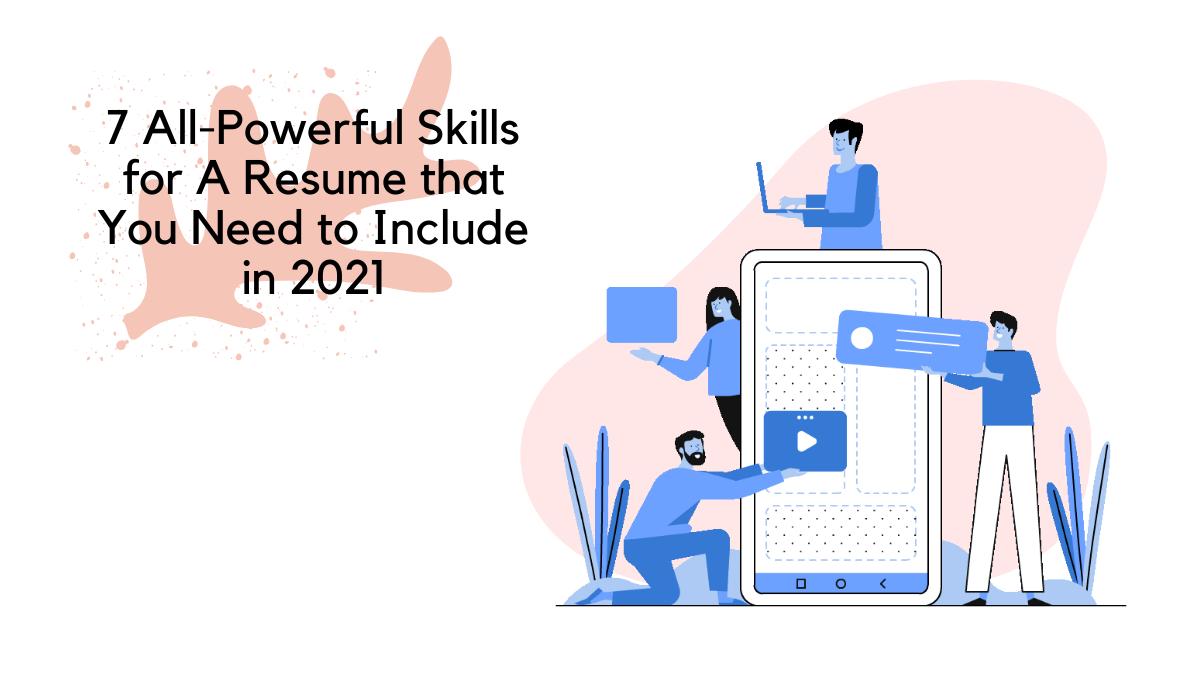 skills for a resume, good skills for a resume, skills to put on resume on Skillhub