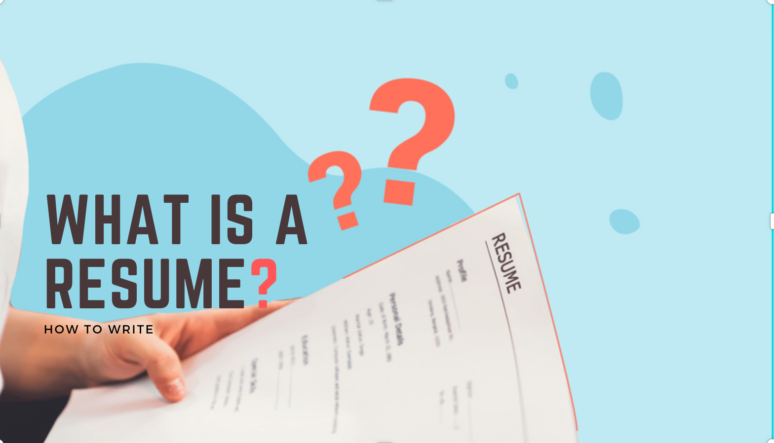 what is a resume,what is a resume for a job, what is a resume?, what is the purpose of a resume