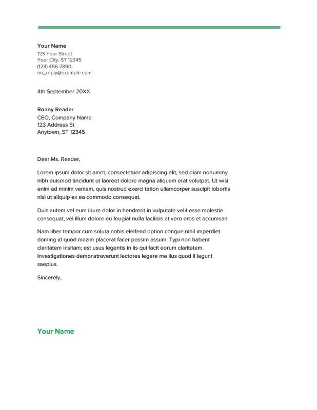 We created spearmint cover letter template on your disposal. Just make a copy and use it.