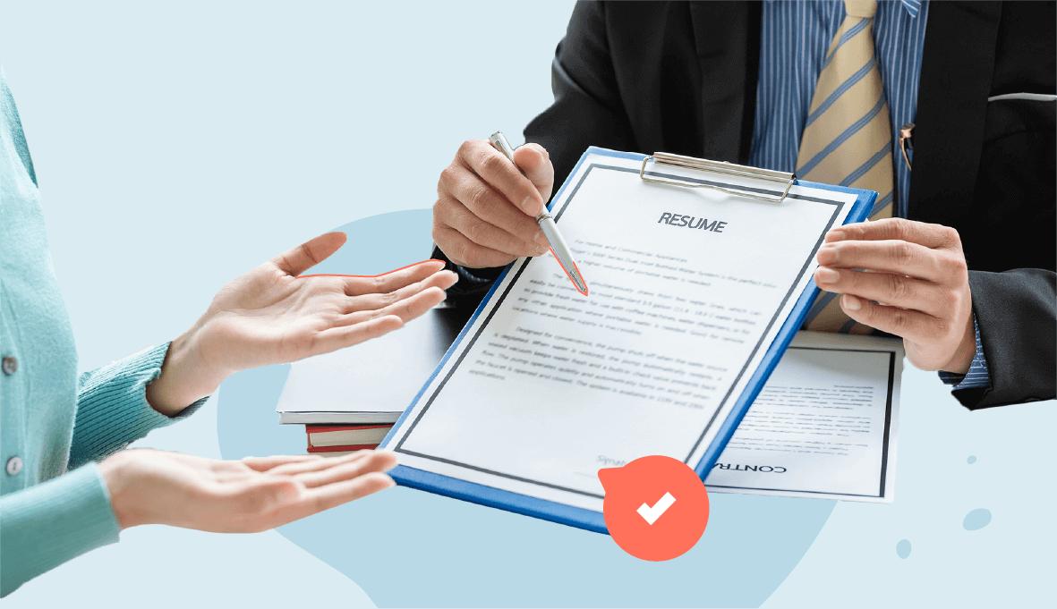 Functional Resume, functional resume example, functional resume template on Skillhub