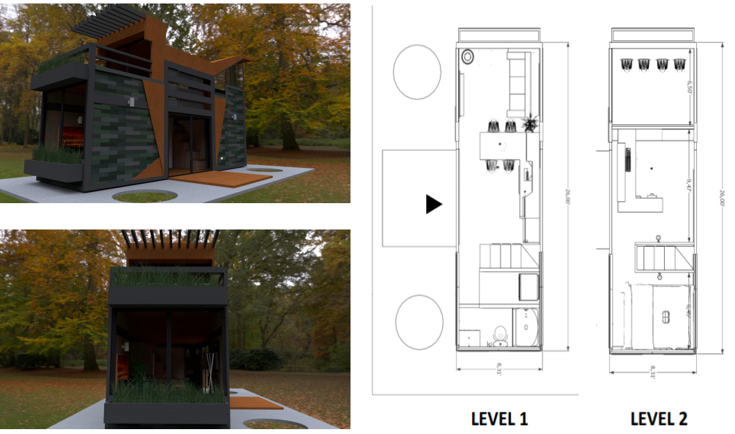 two-level house