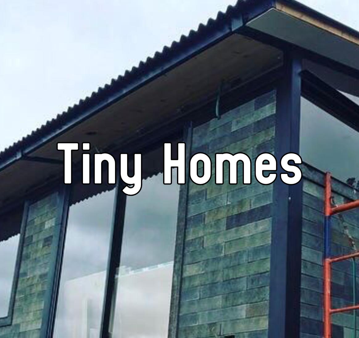 Image of Tiny Home saying tiny home