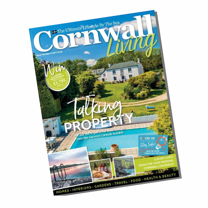 Featured in Cornwall Living Magazine