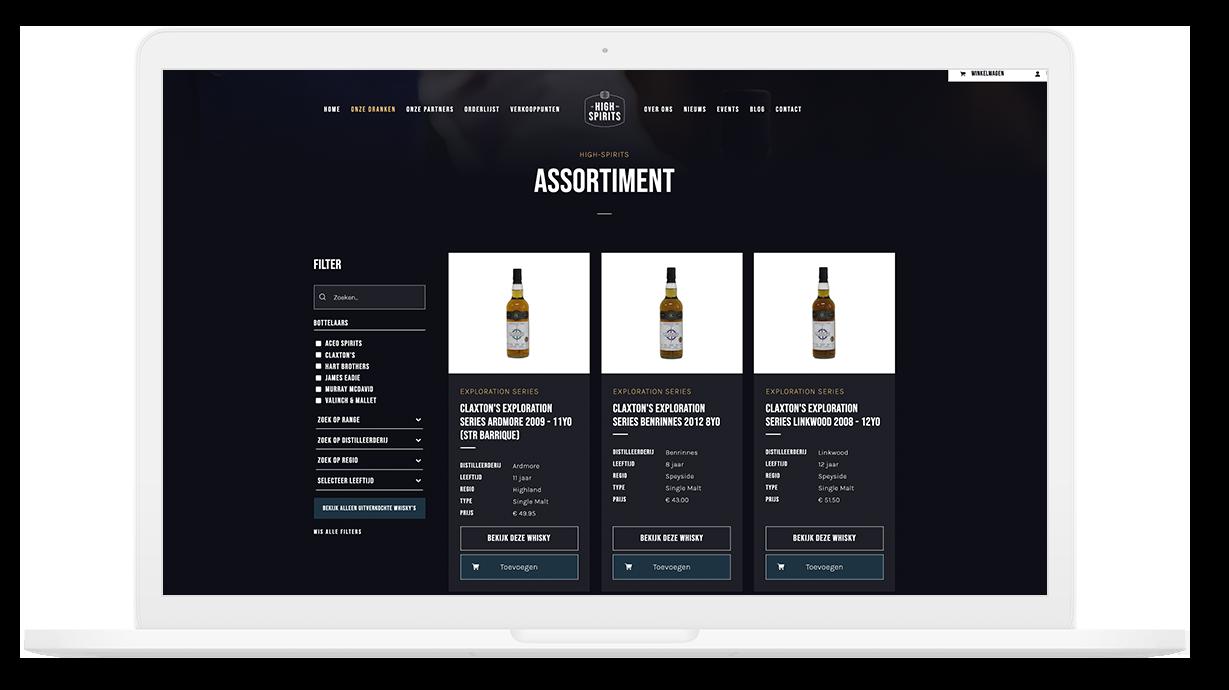 High-Spirits is importeur van de lekkerste onafhankelijk whisky's in Heiloo