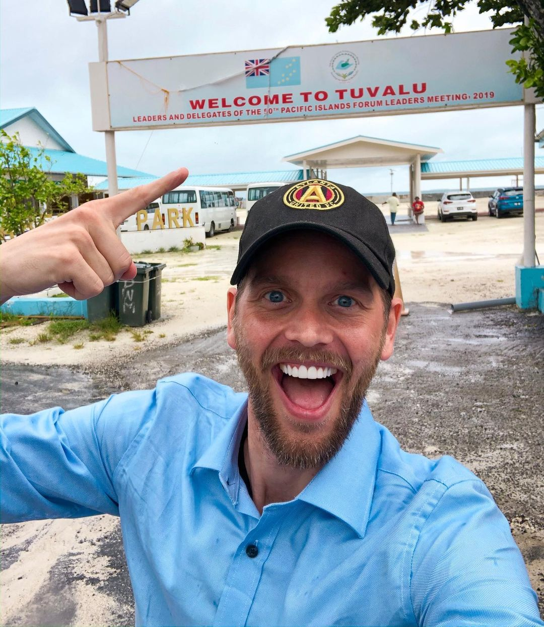 this is a photo of GG in Tuvalu.