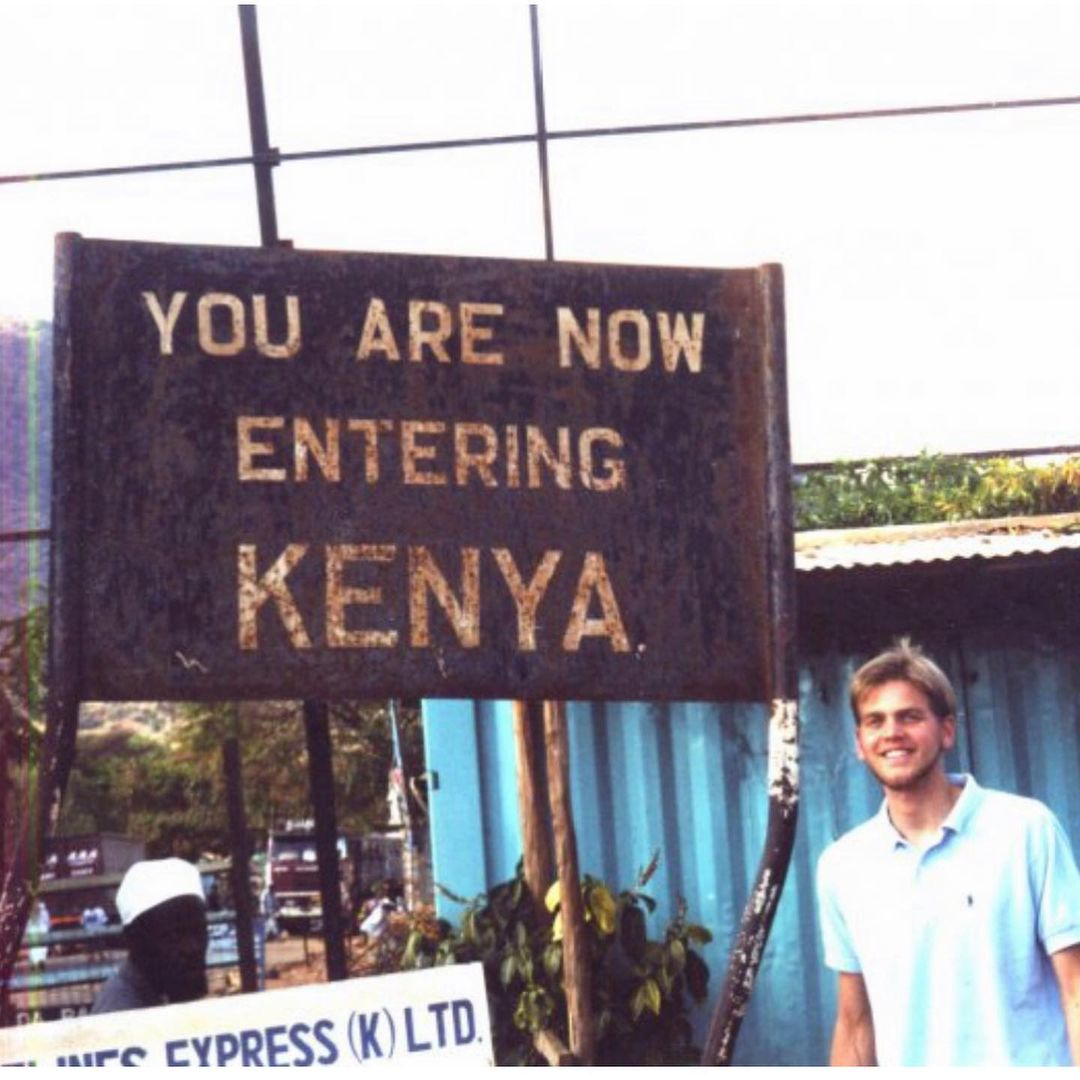 This is a photo of a Kenya sign.