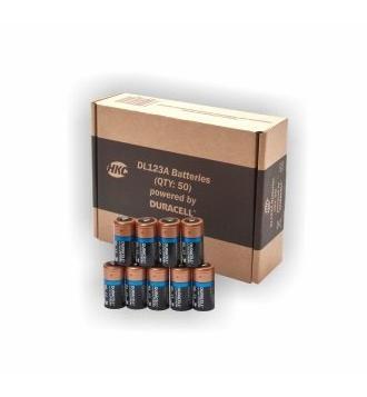 Battery Pack 3V Li 50 pcs