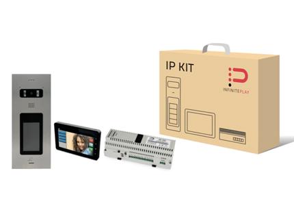 KIT AUDIO-VIDEO IP for VILLA & BUILDING