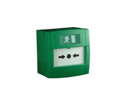 Green Resettable Call Point - AKA-MCP4A-GF
