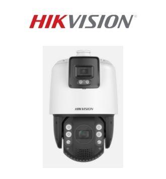 Hikvision Acusense linkage 4pm ptz camera