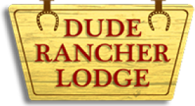Dude Rancher Lodge logo
