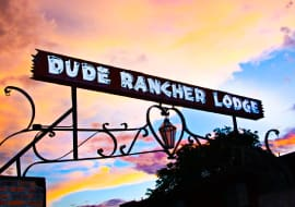 Dude Rancher Sign