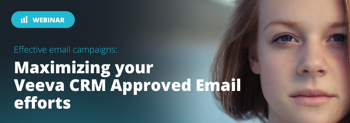 Approved email webinar. Veeva and Anthill