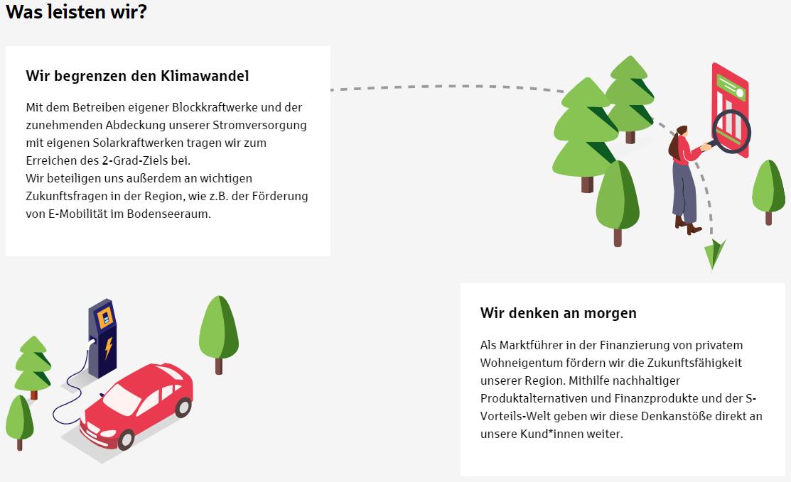 Nachhaltigkeitsplattform - Weganimation