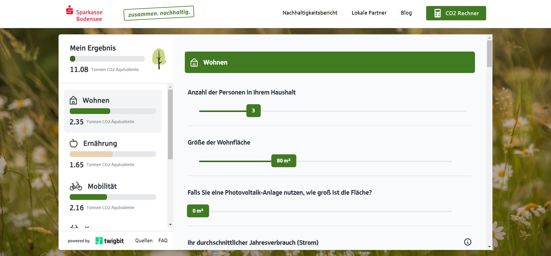 Sparkasse Bodensee CO2 Rechner finale Version