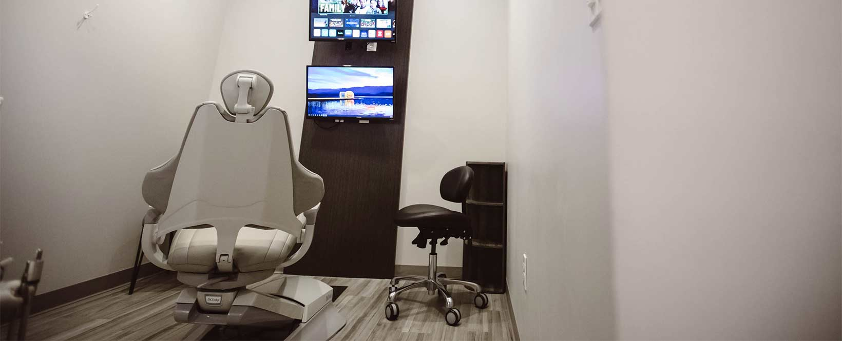 Photo of a treatment room at Bria Dental