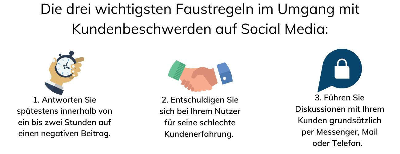 Umgang mit Kundenbeschwerden auf Social Media