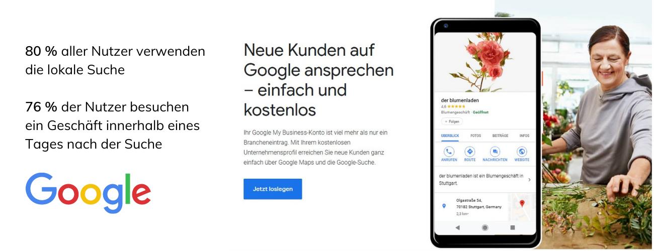 Bewertungesportale - Google My Business