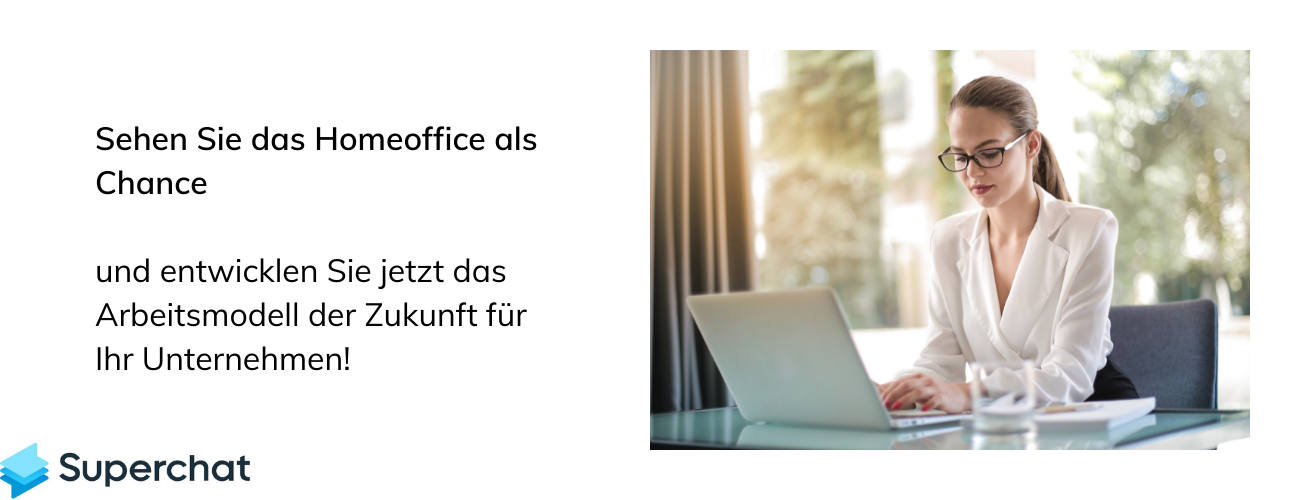 Home Office als Chance