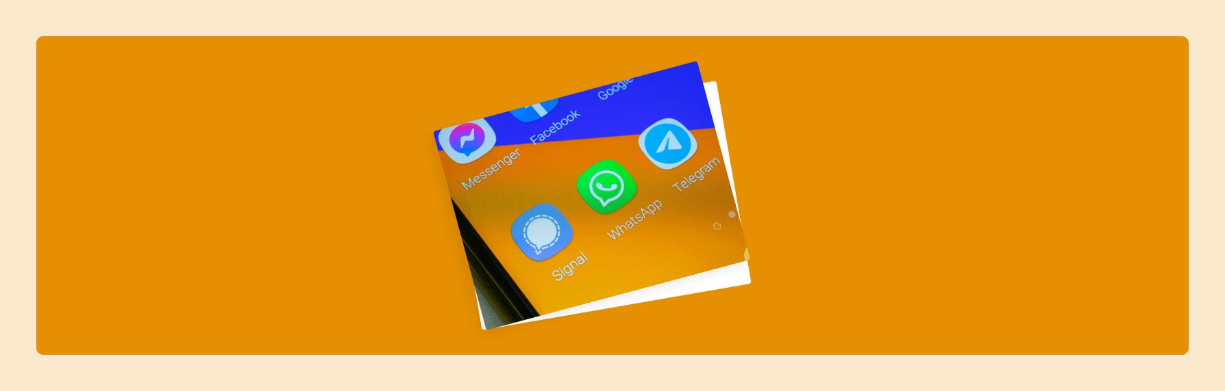 Das sind die sicheren Alternativen zu WhatsApp