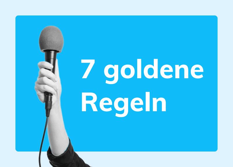 7 goldenen Regeln für Ihre Kundenkommunikation