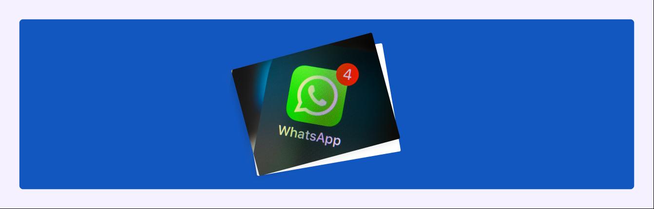 WhatsApp Newsletter Übersicht: Damals & heute