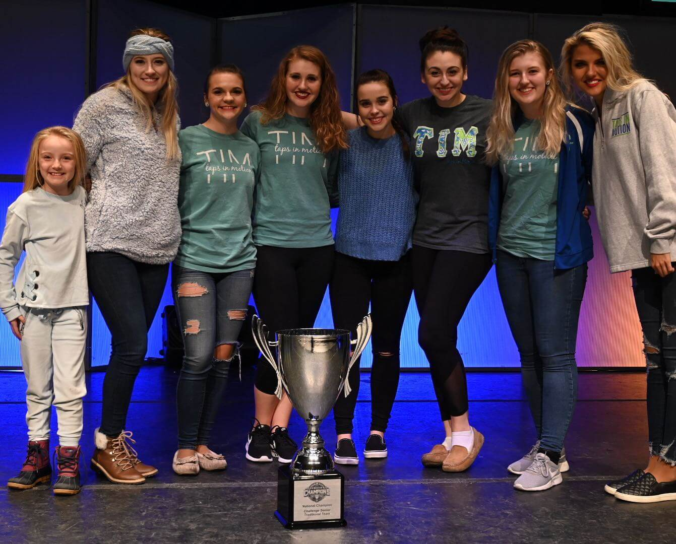2020 CCA Showdown of Champions Overall Challenge Senior Traditional Team — Taps in Motion