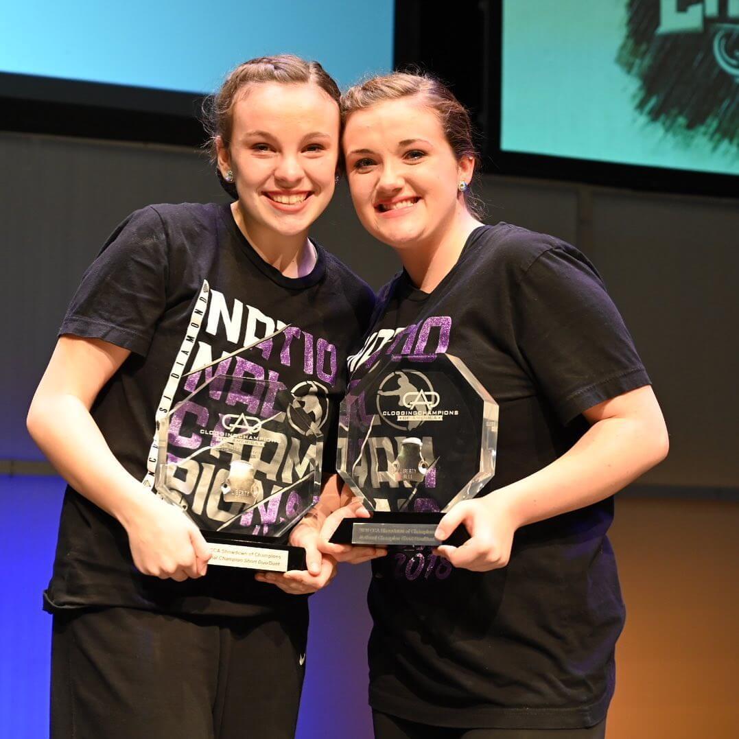 2020 CCA SOC Short Duo Duet — Anna Manley and Jessie McDaniel