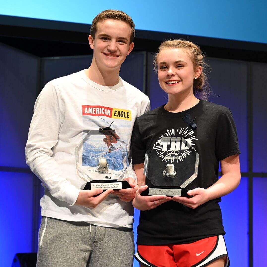 2020 CCA SOC Overall Duo Duet — Gavin Cox and Abby Simpson