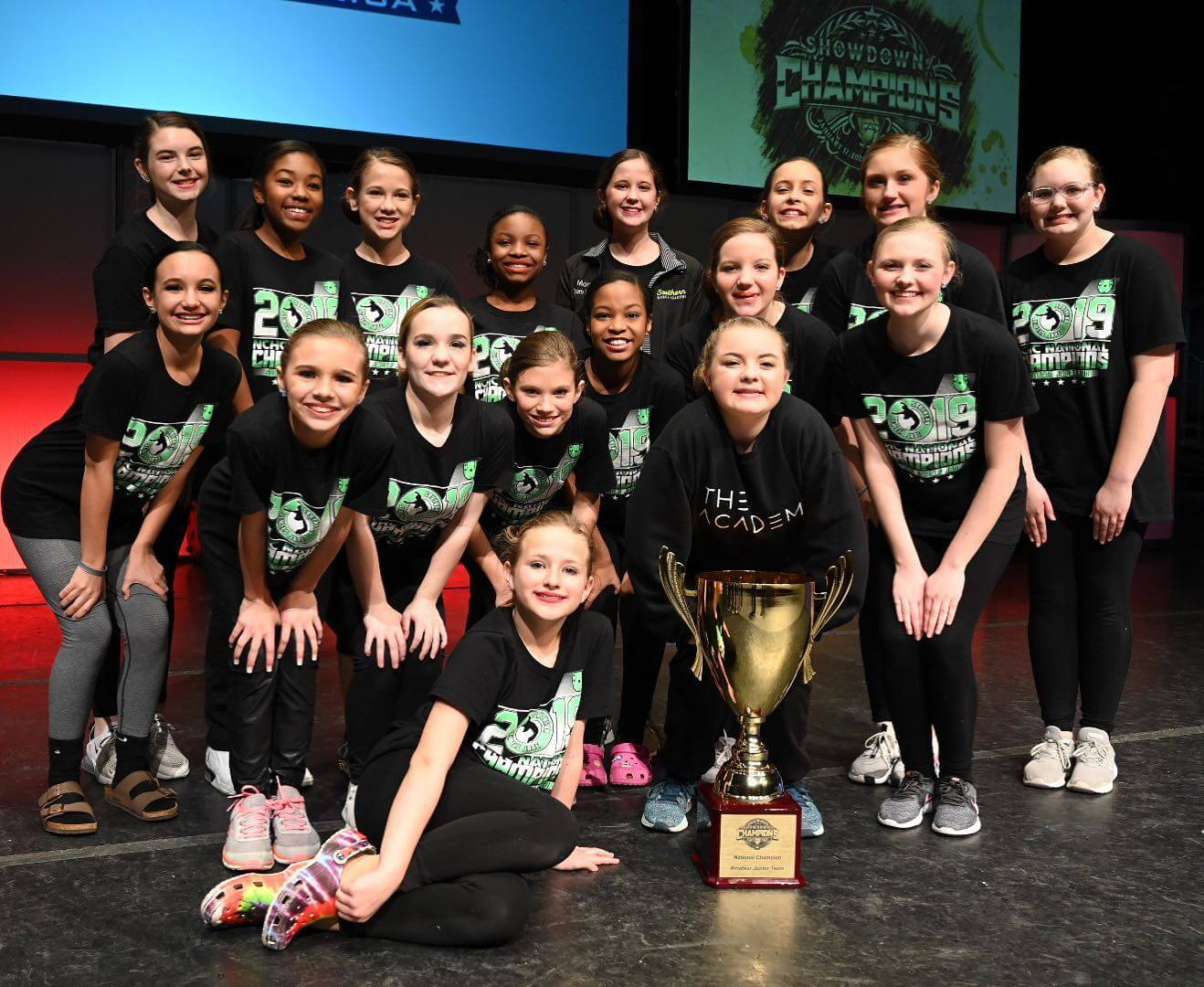 2020 CCA SOC Overall Amateur Junior Contemporary Team — Southern Jewels Jade